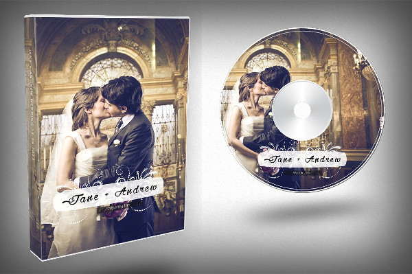 17  wedding dvd cover templates