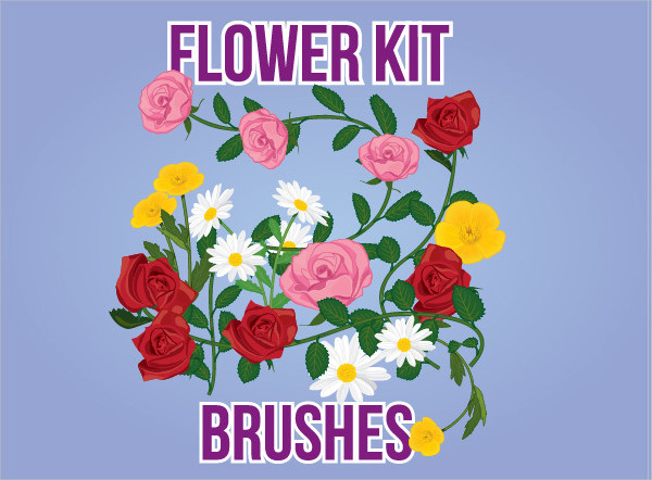 Flower Kit Brushes