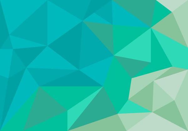 Free Unique Polygon Background