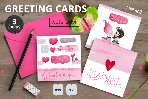 Greeting Card Designs For Valentine's Day