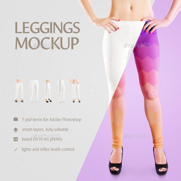 14 legging mockup templates free premium psd png ai downloads