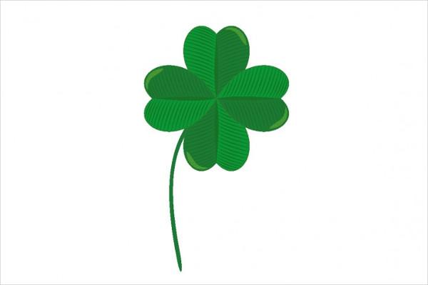 Lucky Clover Leaf Icon