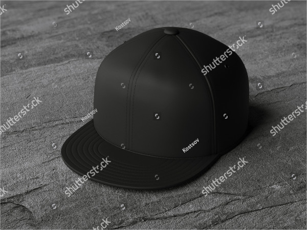 Model Hat Mock-up Templates
