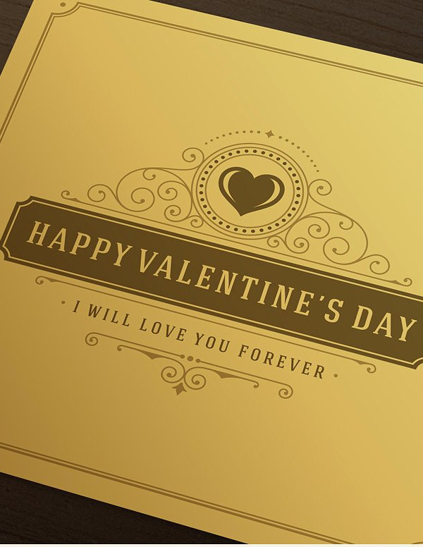 Online Valentines Day Greeting Card Template
