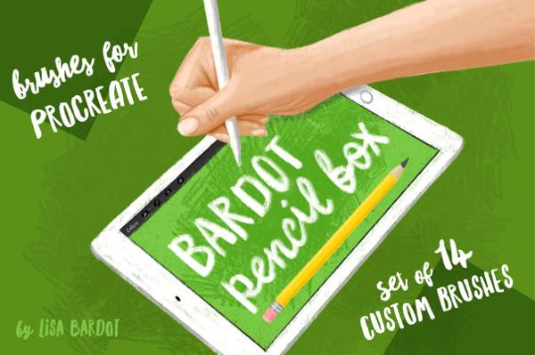 Pencil Box Procreate Brushes