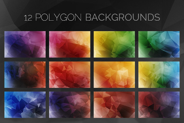 Polygon Triangle Backgrounds