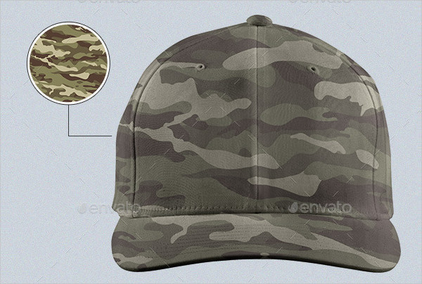 Professional Hat Mock-up Template