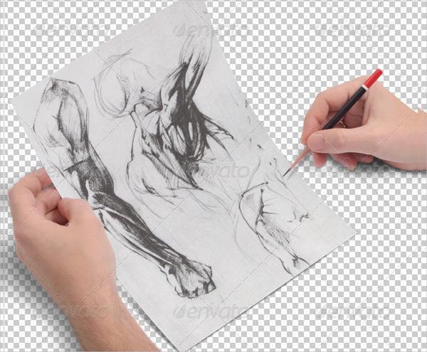 Sketch Drawing Mockups