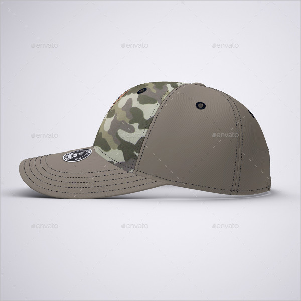 Trucker Hat Mockup Templates