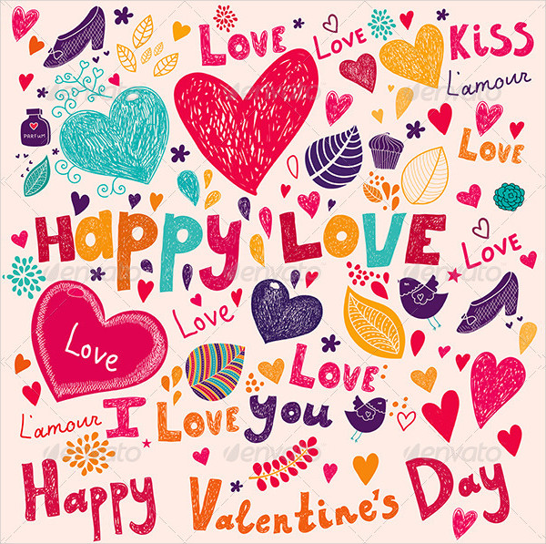 Valentines Day Greeting Card Templates