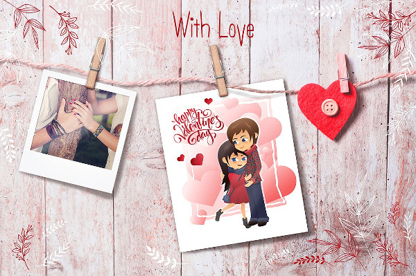 Valentines Day Party Greeting Card