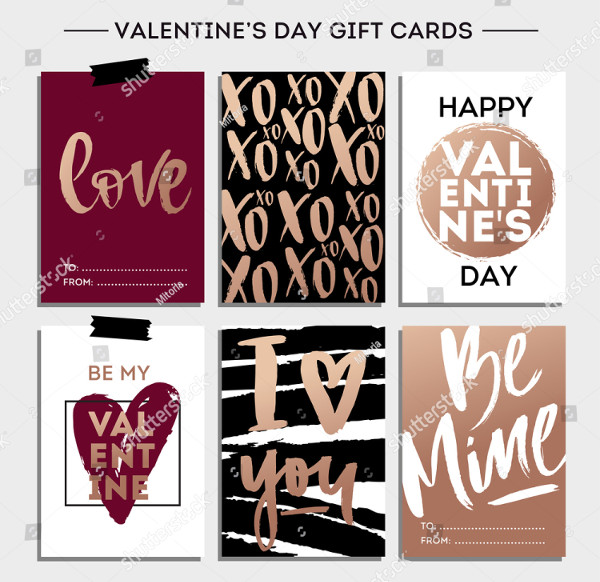 Valentines Day Set, Cards Collection