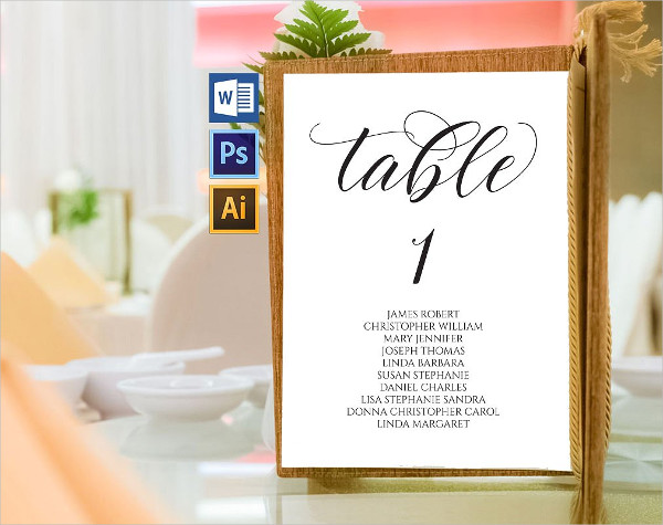 11 wedding seating chart templates free vector psd ai eps format wedding table seating chart template maxwellsz