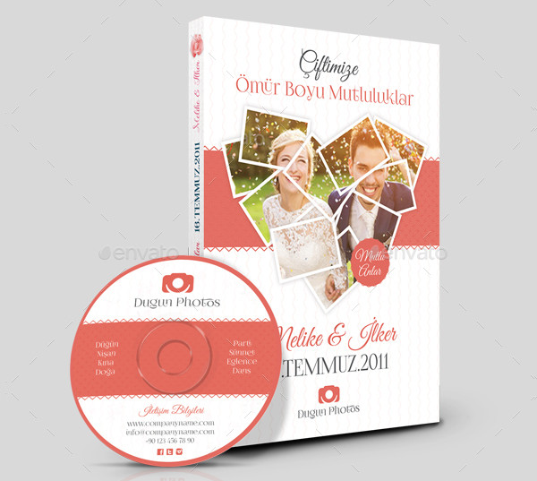 17 wedding dvd cover templates free premium psd files download