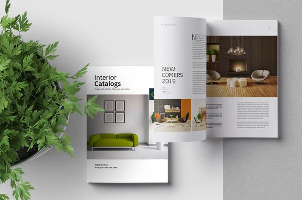 32 Pages Multipurpose Minimal Magazine