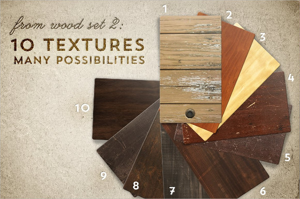 Wood and Leather Texture Designs