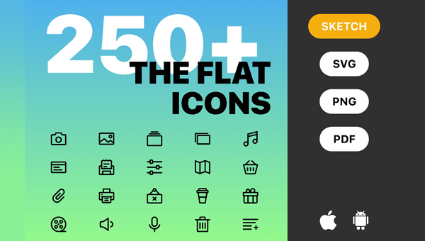 22 Android Icon Templates