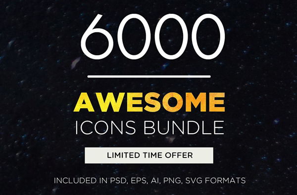 Awesome Android Icons Bundle