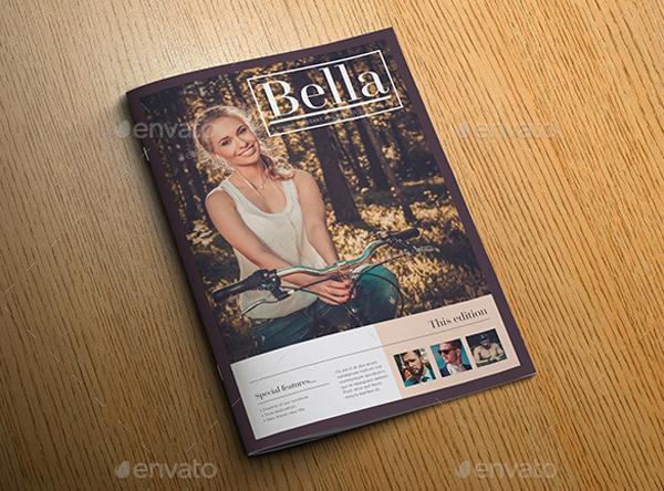 Bella Minimal Magazine Template