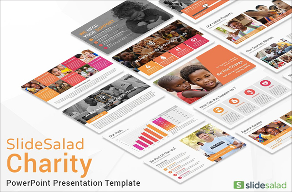 Best Charity PowerPoint Template