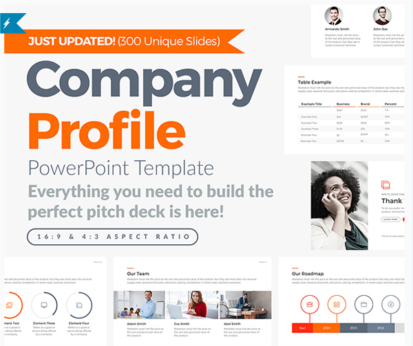 Best Company Profile PowerPoint Template