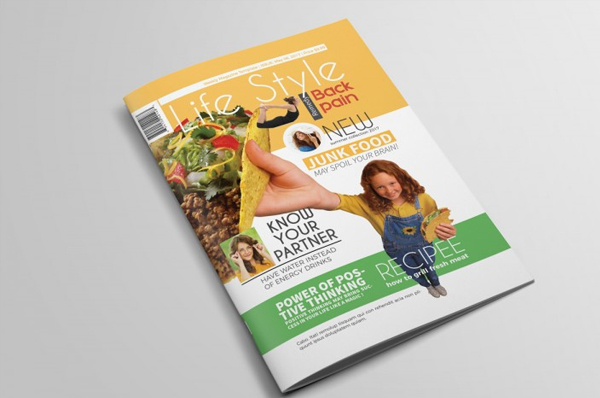 Best Lifestyle Magazine Template