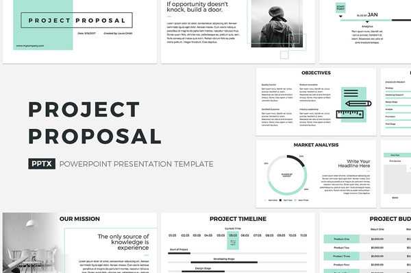 Best Project Proposal PowerPoint Template