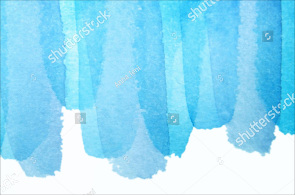 Blue Background Watercolor Photoshop Brushes