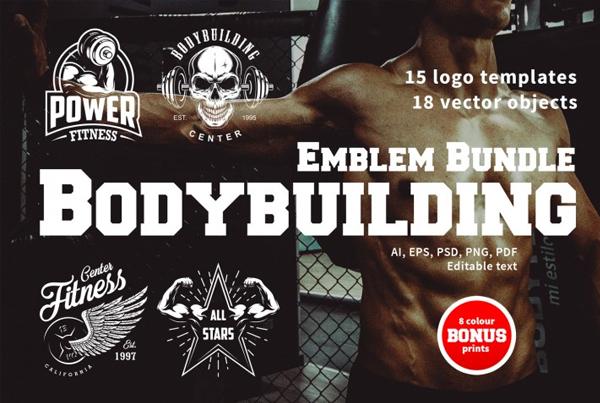 Bodybuilding Logo Designs