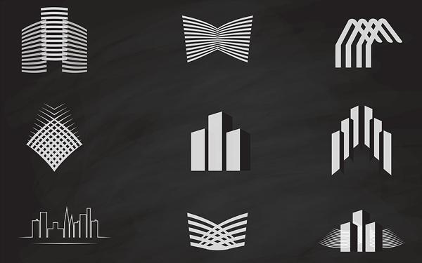 Building Construction Logo Templates