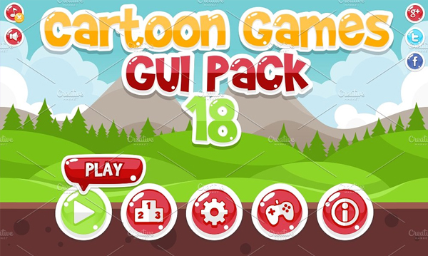 Cartoon Game Android Icons