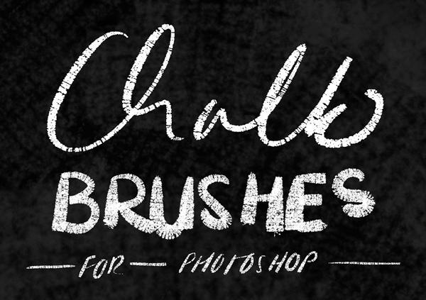 Chalk Brushes for Photoshop