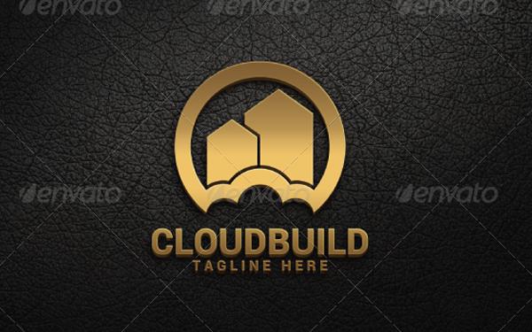 Cloud Build Logo Template
