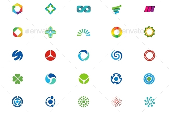 Colorful Abstract Icons