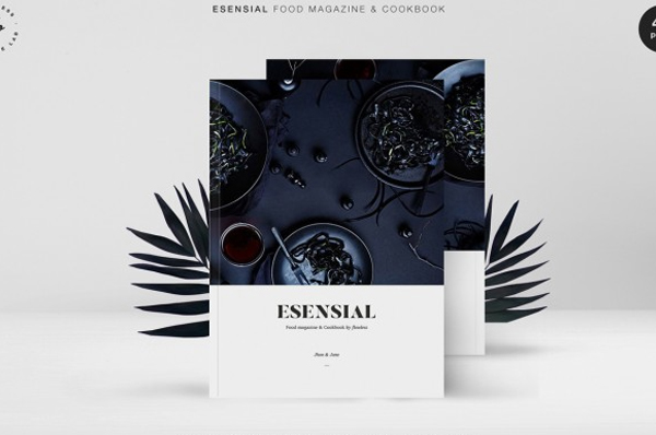 Cookbook Minimal Magazine