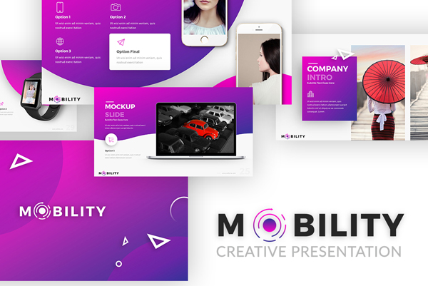 Creative Mobility PowerPoint Presentation