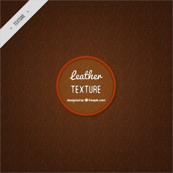 Dark Leather Texture