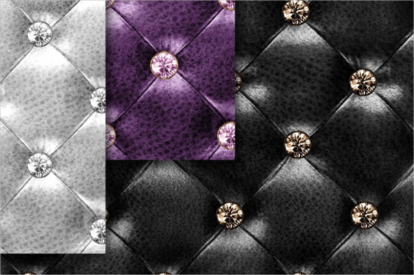 Diamond Tufted Leather Textures