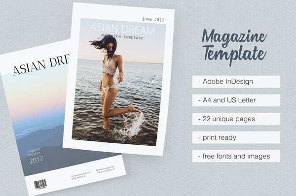 Dream Magazine Template