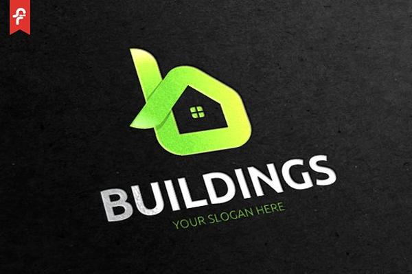 Elegant Building Logo Design