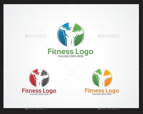 Fitness Building Logo Design