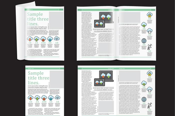 Free Download Technology Magazine Layout