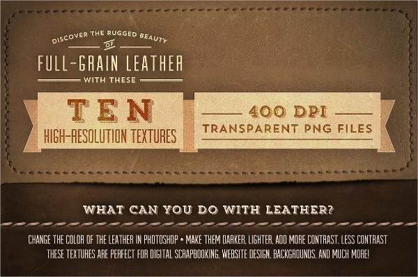 Full Grain Leather Textures