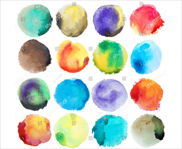 Grunge Watercolor Photoshop Brushes