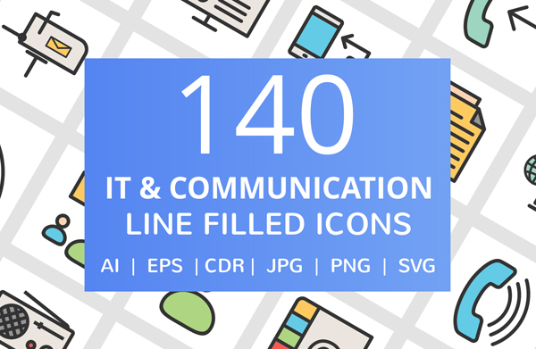 IT and Communication Android Icons