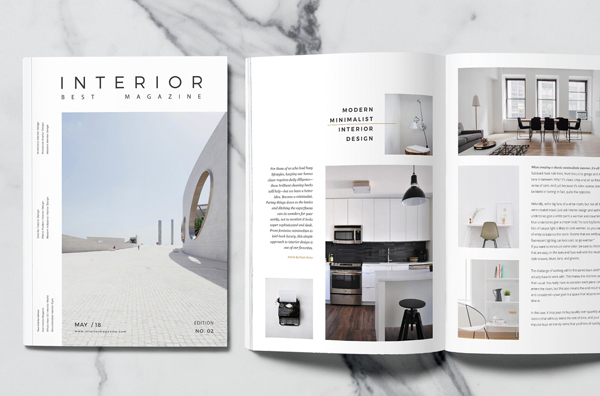 Interior Minimal Magazine