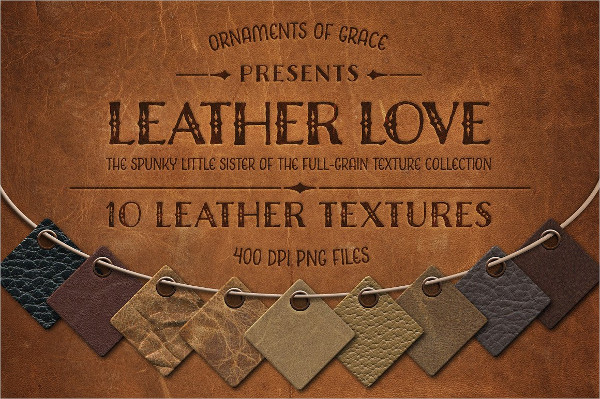 Leather Love Texture Designs