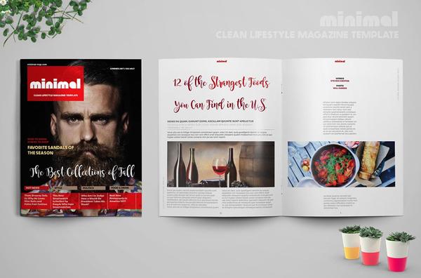 Lifestyle Minimal Magazine