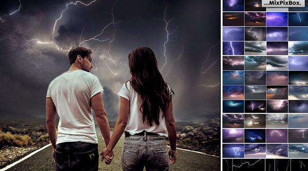 Lightning Photo Backgrounds