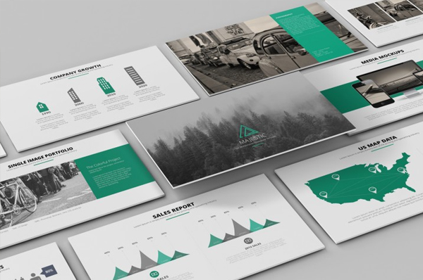 Majestic PowerPoint Template
